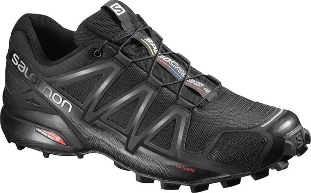 Salomon Speedcross 4 Wide Shoes Herren blackblackblack metallic